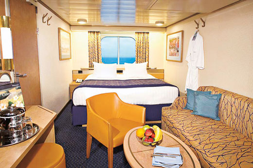Large Ocean-view Stateroom (Full Ocean-view)