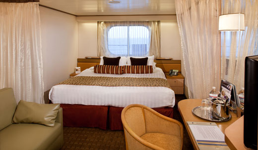 Large Ocean view Spa Stateroom