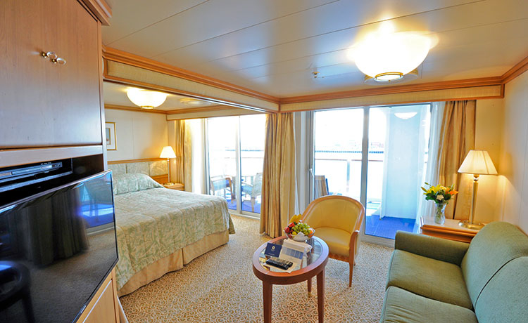 Vista Suite with Balcony (Partially Obstructed View)  – [S6]