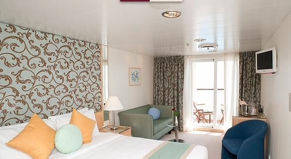 Deluxe Stateroom with Balcony