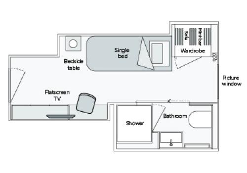 Single Stateroom