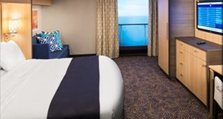 Studio Interior Stateroom with Virtual View
