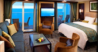 Superior Ocean View Stateroom with Balcony
