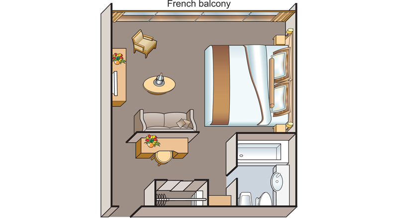 Deluxe French Balcony