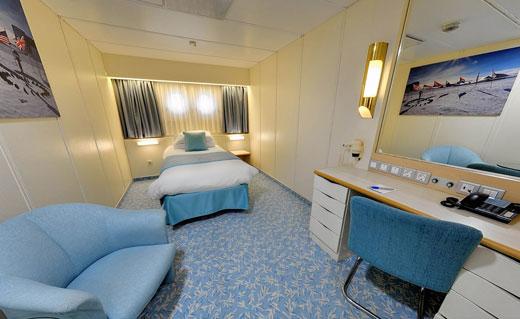 Single Ocean View Cabin