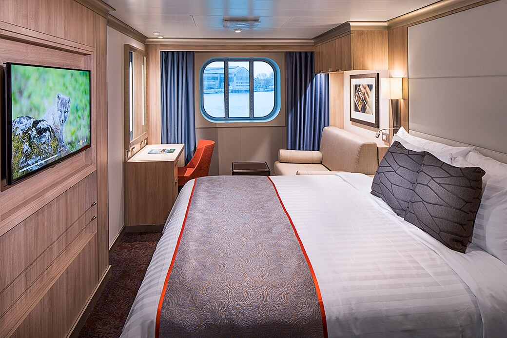 Large Oceanview Stateroom – [D]