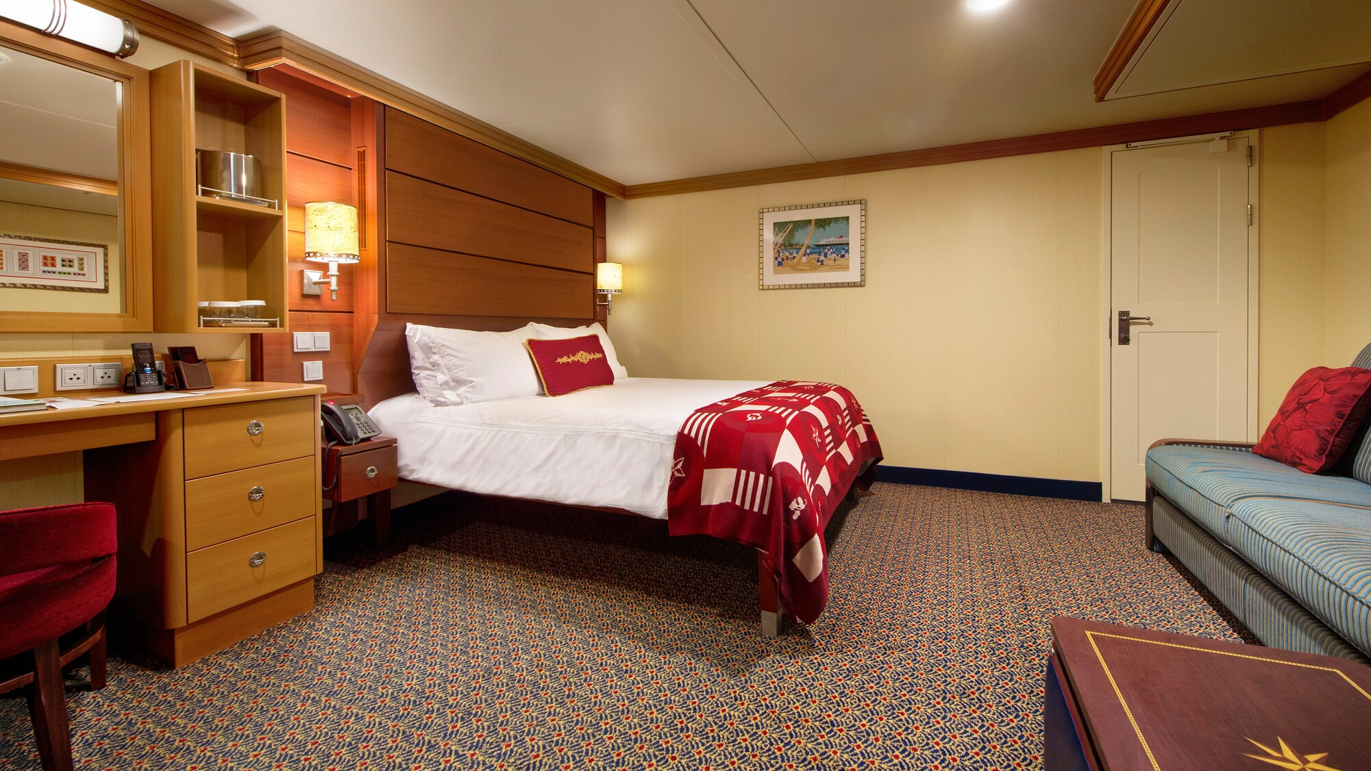 Standard Inside Stateroom Accessible – [11B]