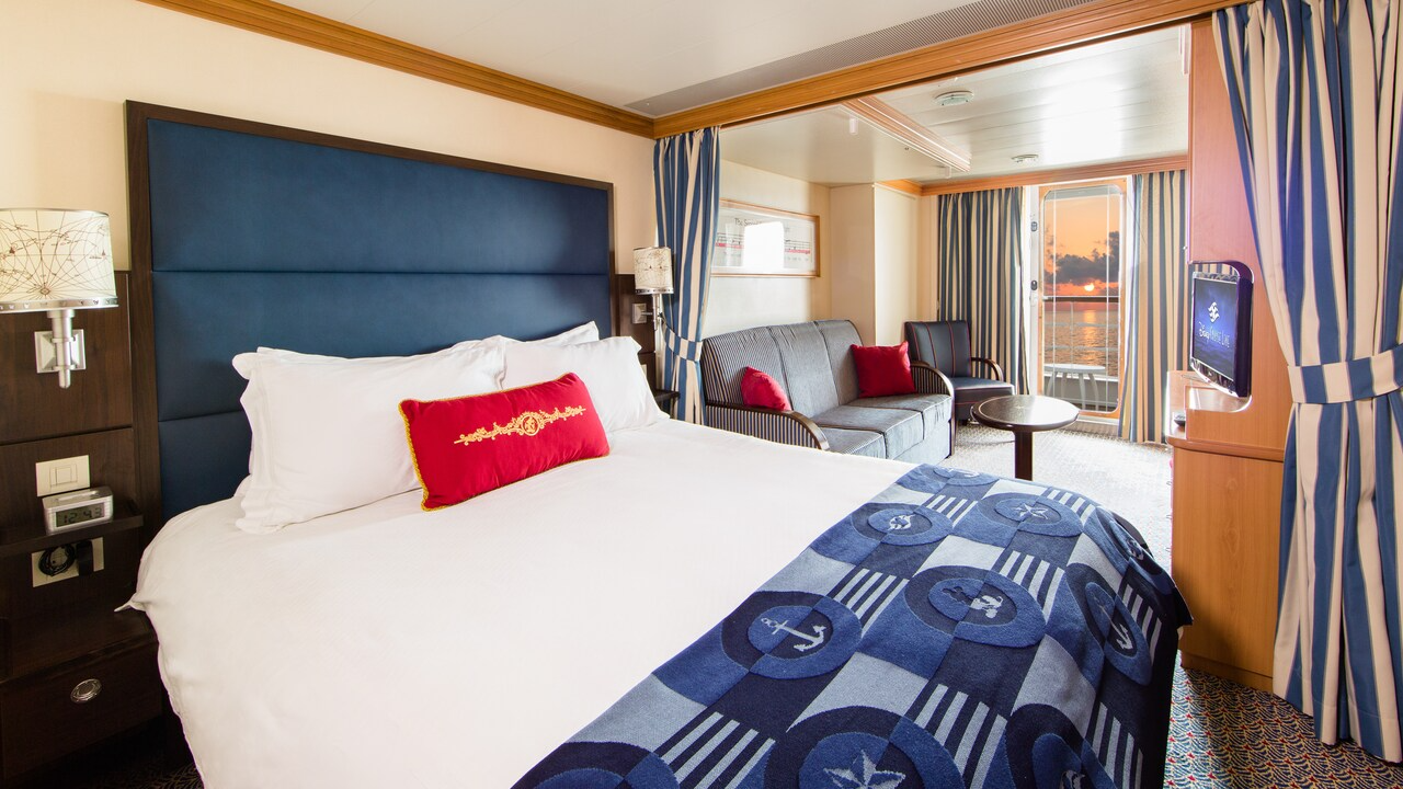 Deluxe Family Oceanview Stateroom With Verandah – [04A]