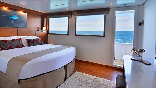 Elite Oceanview Stateroom