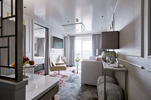 Seabreeze Penthouse Suite With Verandah And Third Berth
