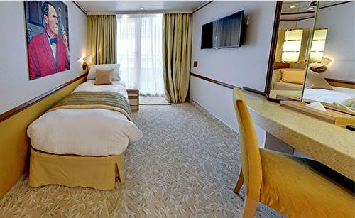 Single Balcony Suite