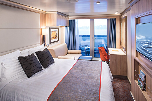 Verandah Stateroom (Partially Obstructed View)