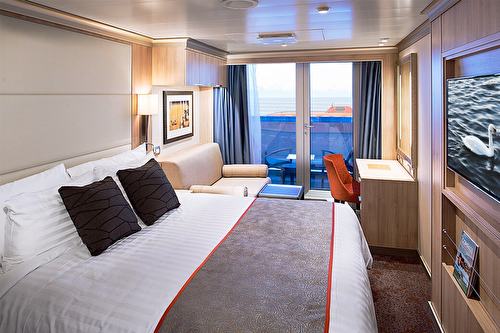 Verandah Stateroom (Partially Obstructed Views)