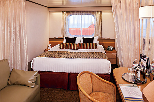 Large Ocean view Stateroom (Partial Sea View)