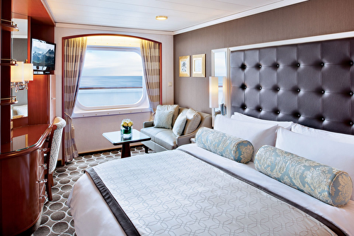 Deluxe Stateroom with Large Picture Window