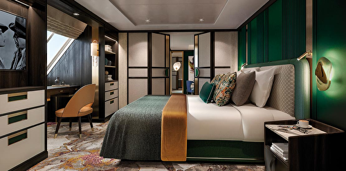 Forward Suite with balcony