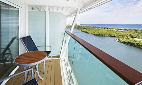 Connecting Oceanview Balcony