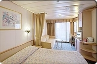 Deluxe Ocean View Stateroom with Balcony (E1)