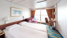 Oceanview Stateroom with Balcony (BC)
