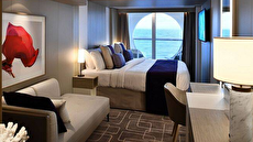 Deluxe Ocean View Stateroom with Veranda