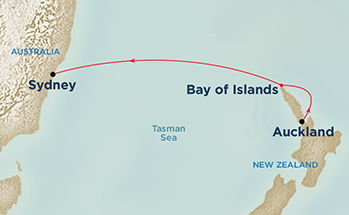7 Night Fly,Stay-Cruise from Sydney onboard Sun Princess