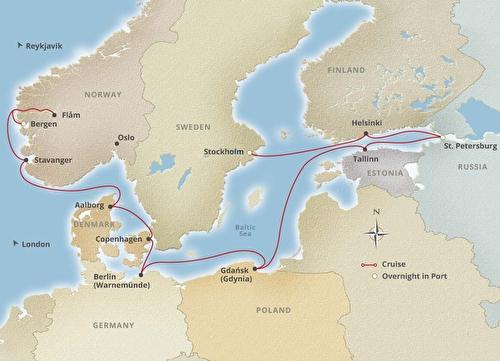 14 Night Viking Homelands Cruise onboard Viking Sea