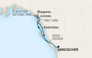 11 Nights Alaska Fly Cruise Package from Adelaide