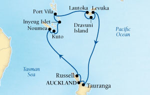 16 Night NZ & South Pacific Fly-Cruise Package