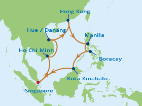 16 Night Fly, Stay & Cruise onboard Celebrity Constellation