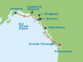 10 Night Alaska Northern Glacier Fly Cruise Package