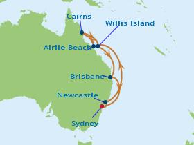 10 Night Tropical Queensland Cruise