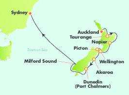 11 Night Fly, Stay & Cruise New Zealand