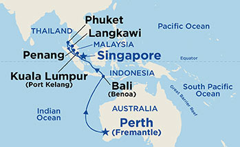 12 Night Southeast Asia Cruise