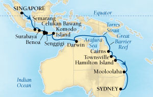 26 Night Asia Fly, Stay & Cruise Package