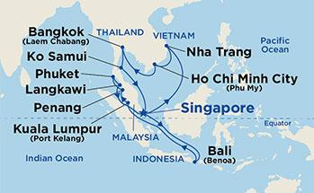 23 Night South East Asia Grand Adventure Cruise