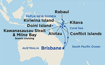 11 Night Papau New Guinea Cruise