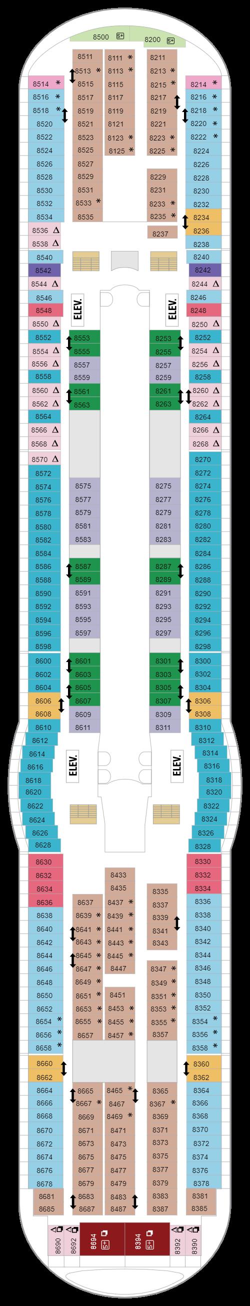 Deck 8 (April 21st, 2021 - April 30th, 2022)