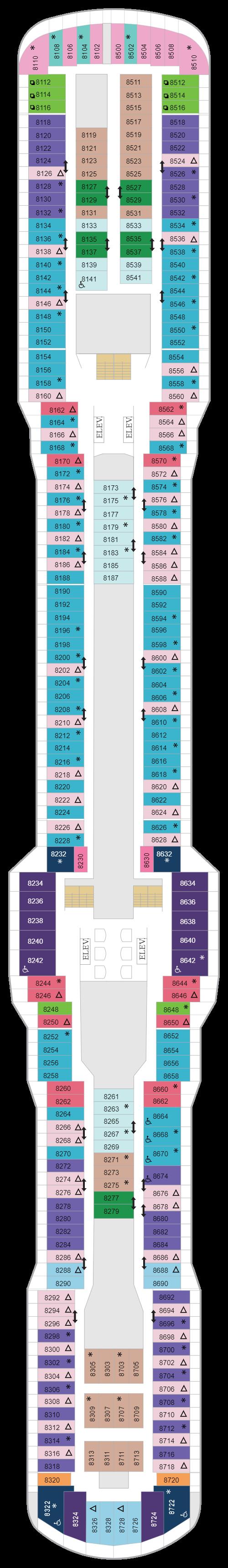 Deck 8 (January 24th, 2021 - Jan12th, 2022)