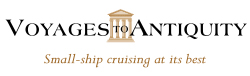 Voyages to Antiquity logo