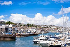 Falmouth harbour, England