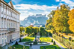 Mirabell Palace and Gardens in Salzburg, Austria