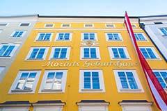 Mozart House in Salzburg, Austria