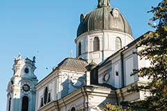 Nonnberg Abbey in Salzburg, Austria