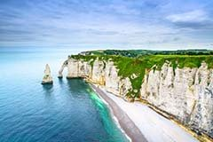 Etretat Aval Cliff, Normandy