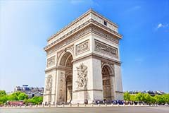 The Arch de Triomphe