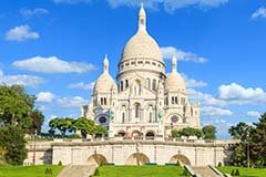 The basilica Sacre Coeur