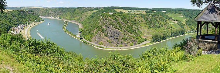 Lorelei Rock, Rhine Valley