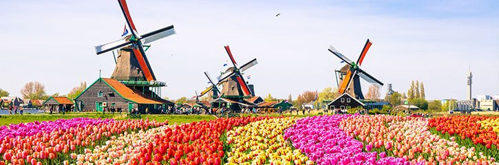 Windmills, Holland