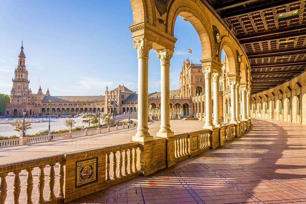 Seville One Of The Most Visited Cities In Spain Famous For Its Historical Beauty Oranges And Christopher Columbus See The Magnificent Seville Cathedral