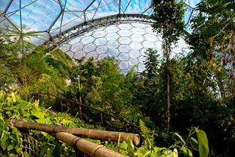 Coach Holidays to the Eden Project, Cornwall